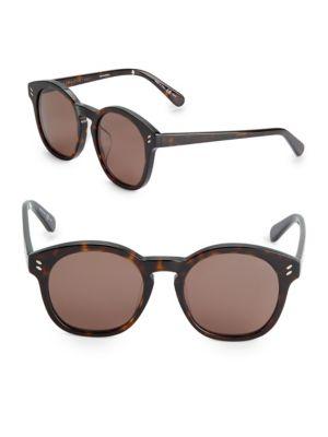 Stella Mccartney  51MM Classic Round Sunglasses