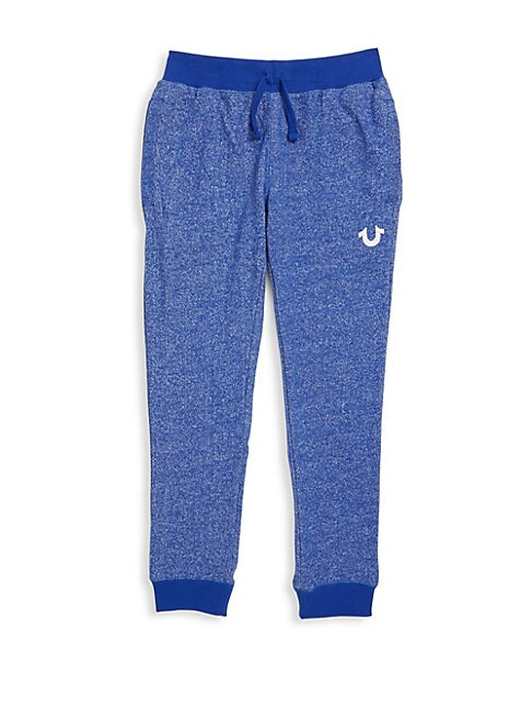 Little Boy's Royal Cotton Sweatpants