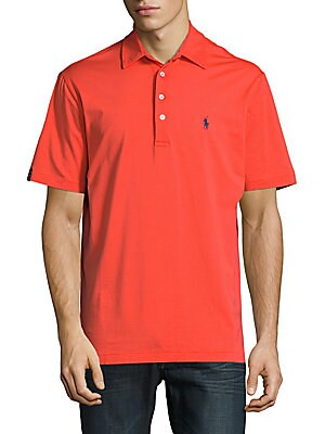 Classic Embroidered Polo