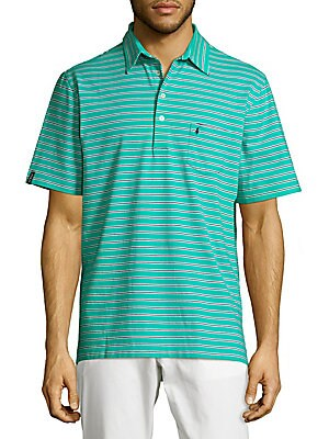 Horizontal Striped Polo