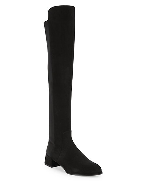 STUART WEITZMAN   Fifo Suede Tall Boots   Goxip