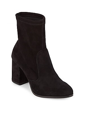 Harper Leather Booties by Saks Fifth Avenue