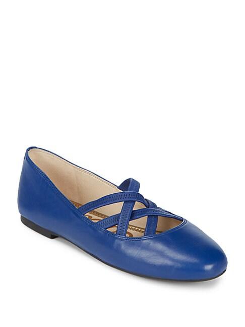 Fredrick Leather Ballet Flats