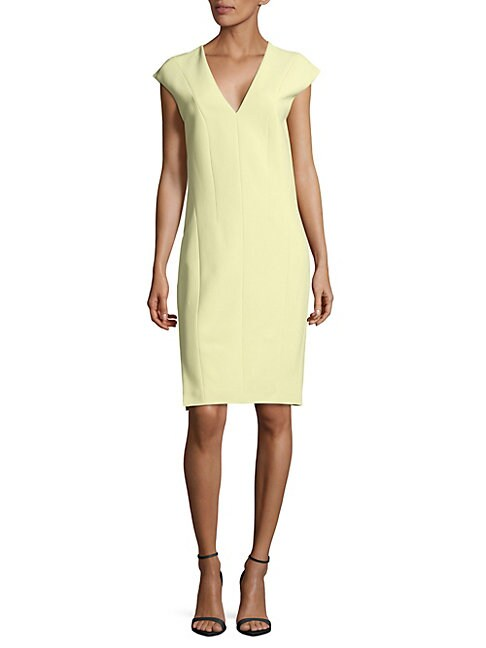 Narciso Rodriguez CREPE KNEE-LENGTH DRESS