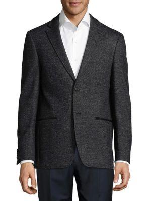 John Varvatos  Notch Buttoned Jacket