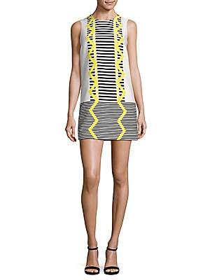 Abito Donna Stripe Dress
