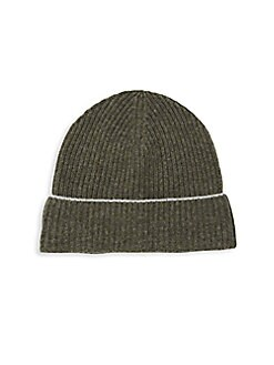 9cf39efbbf9 Cashmere Knit Beanie OLIVE. QUICK VIEW. Product image