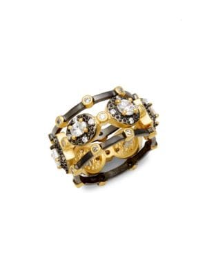 Freida Rothman  Harlequin Tiple Stack Ring