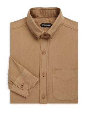 TOM FORD Patch Pocket Dress Shirt