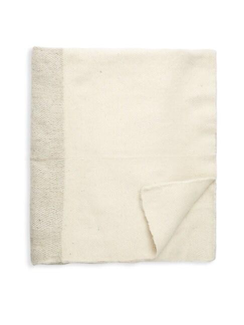 Sabana Wool Throw Blanket