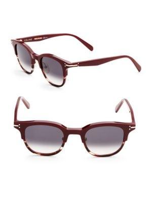 5bad617a6f9 Celine 48Mm Clubmaster Sunglasses In Black
