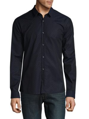 Hugo Boss  ERO3 Star Print Shirt