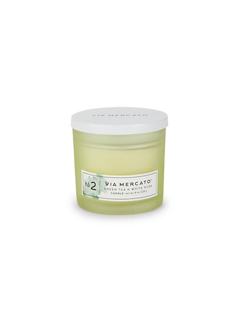 No.2 Green Tea and White Musk Candle