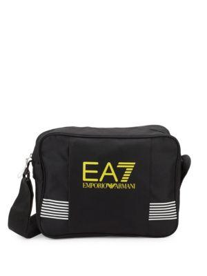 Ea7 Emporio Armani  STRIPED FRONT CROSSBODY BAG