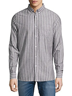 Sovereign Code  Nason Cotton Casual Button-Down Shirt