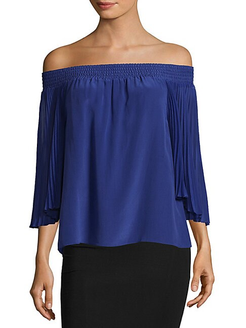 Elina Off-The-Shoulder Blouse