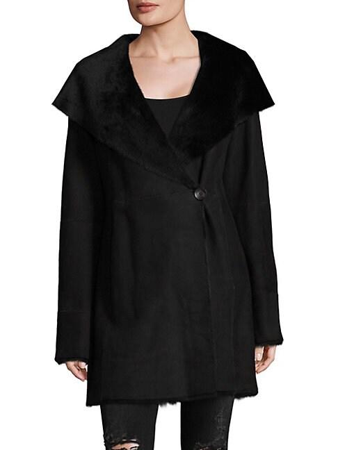 DOMINIC BELLISSIMO | Shearling Coat | Goxip