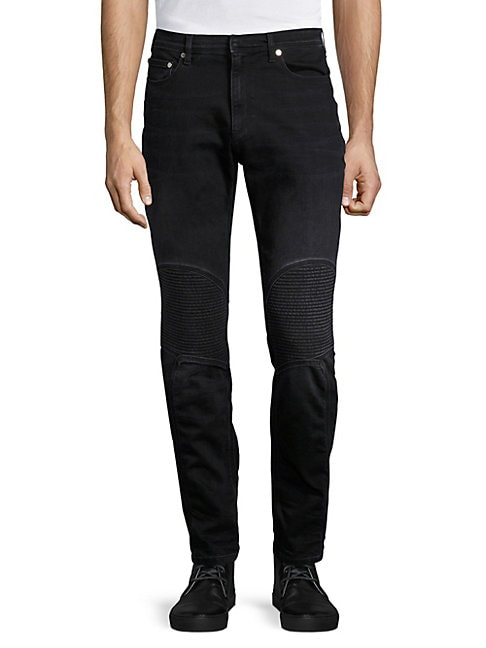 FACTORY BY ERIK HART | Skinny-Fit Midrise Jeans | Goxip