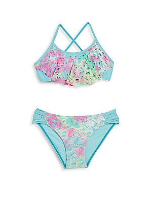 Little Girl's & Girl's Two-Piece Bikini