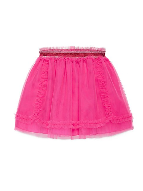 Little Girl's & Girl's Tulle Ruffled Skirt