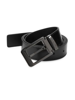 Versace Buckled Leather Belt