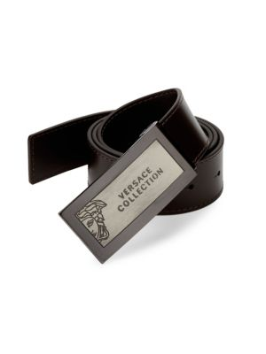 Versace Hardware Leather Belt