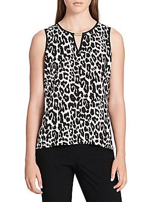 Leopard-Print Top