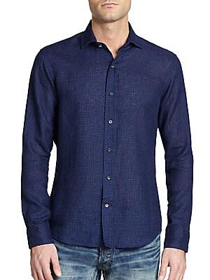 Sloan Geometric Print Shirt
