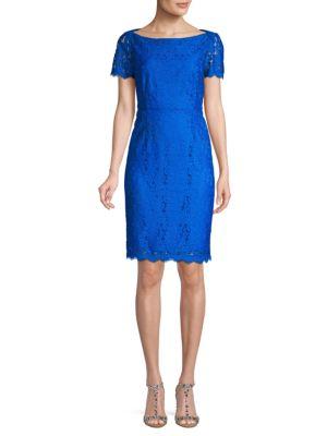 Diane Von Furstenberg Ainsley Lace Sheath Dress