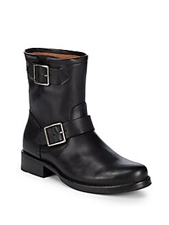 Vicky Engineer Boots BLACK. Product image