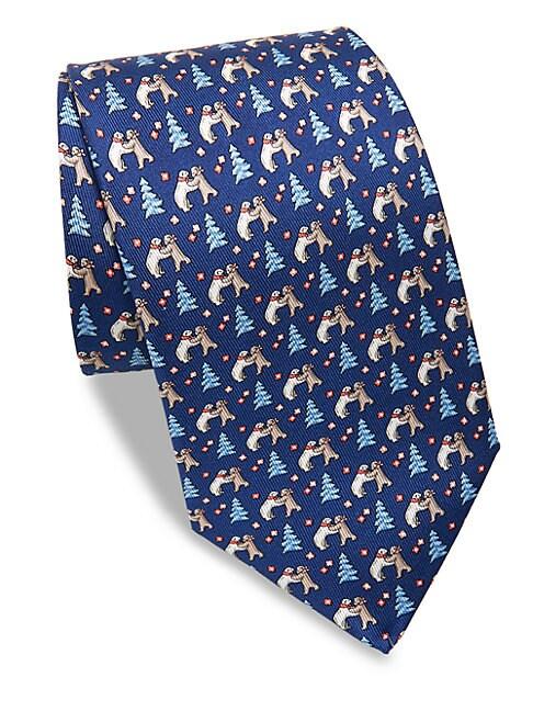 Polar Bear Silk Tie
