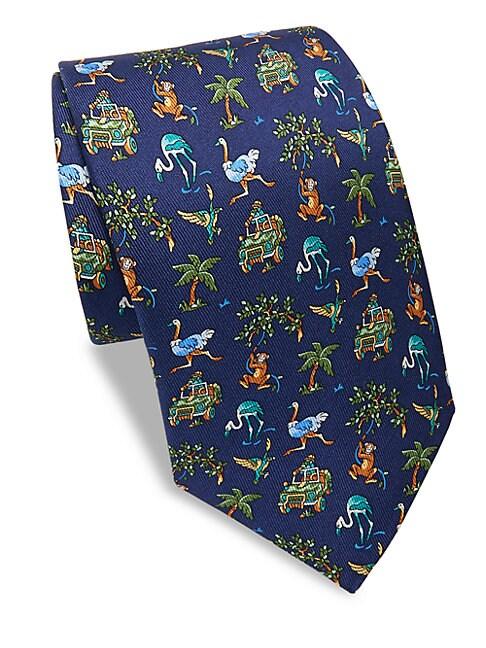 Jungle Silk Tie