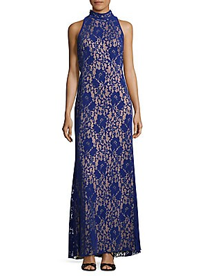 Halter Lace Gown