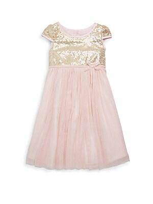 Girl's Lena Sequin Dress