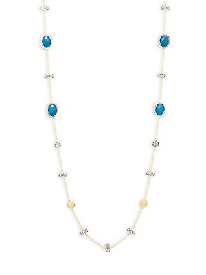 Freida Rothman  BAROQUE BLUES STRAND NECKLACE
