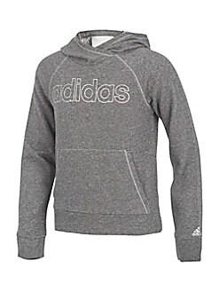 Adidas - Girl's Sparkle Hoodie