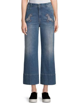 Stella Mccartney  Frayed Cuff Jeans