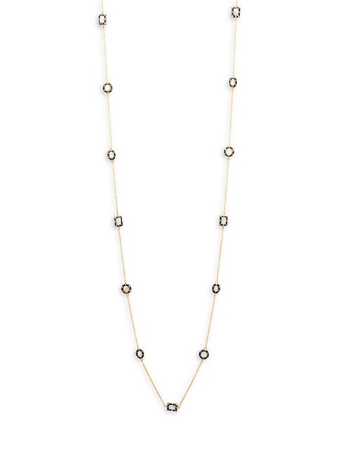 Harlequin Mother-Of-Pearl Necklace
