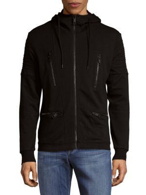 Antony Morato  Zip Front Fleece Hoodie