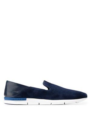 Grand Horizon Slip-On Sneakers, Blue/White, Marine Blue