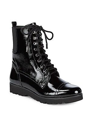 Camren Leather Combat Boots