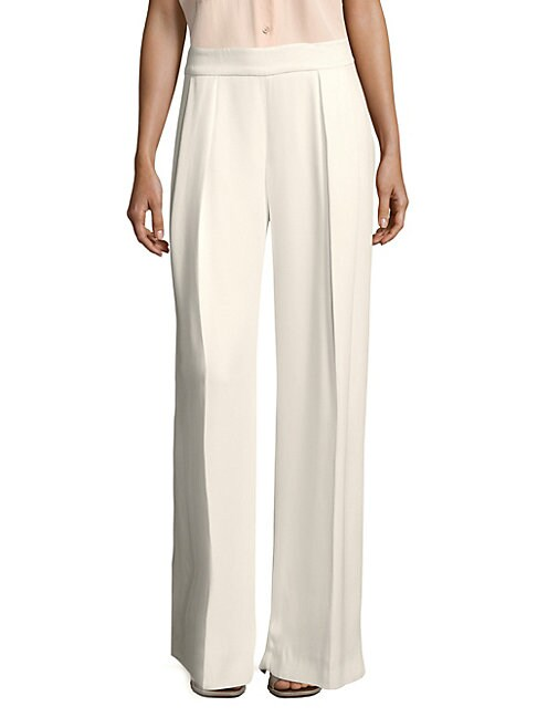 Carolina Herrera BASIC WIDE-LEG PANTS
