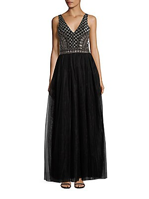 Courtney Embellished Gown