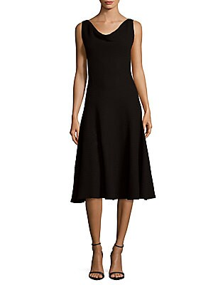 Cowlneck Dress