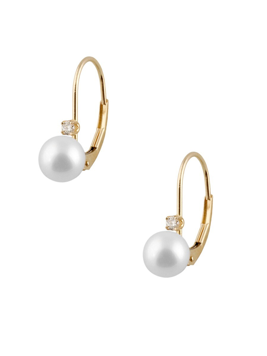 Pearls 6-6.5MM White Pearl