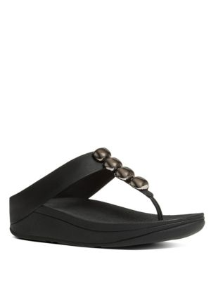 Fitflop  Rola TM Leather Thong Sandals