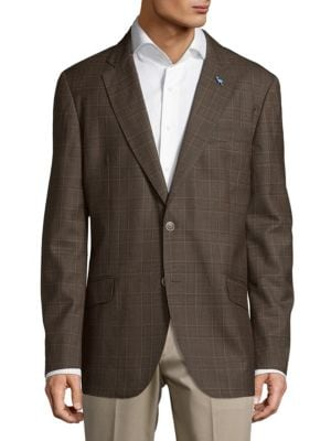 Tailorbyrd  Glen Plaid Jacket