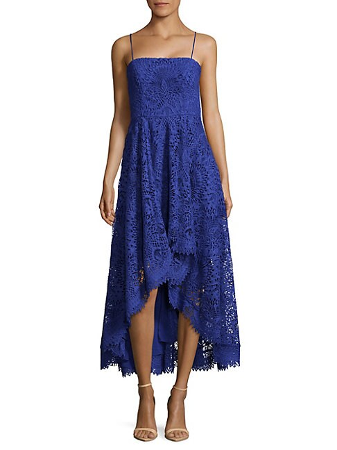 Lace Hi-Lo Dress