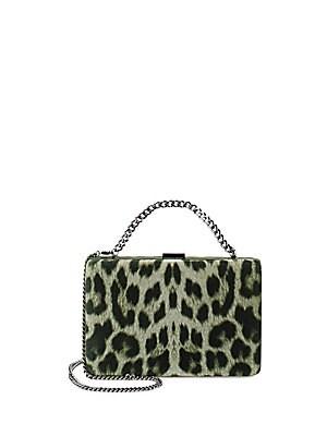 Leopard-Print Clutch
