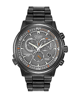 Mens Eco-Drive Nighthawk Chronograph Watch